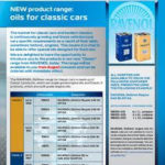RAVENOL Newsletter – NEW product range: Oils for classic cars