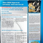 RAVENOL Newsletter - New OEM Approval