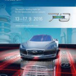 Automechanika in Frankfurt, Germany, from 13th to 17th September, 2016